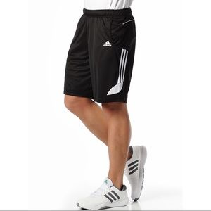 ADIDAS Athletic Wear Black Shorts Men's Large